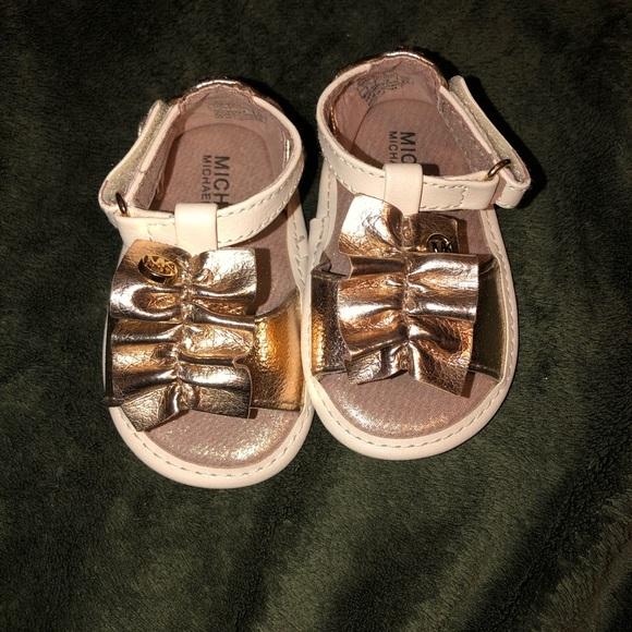 Michael Kors Baby Sandals Size